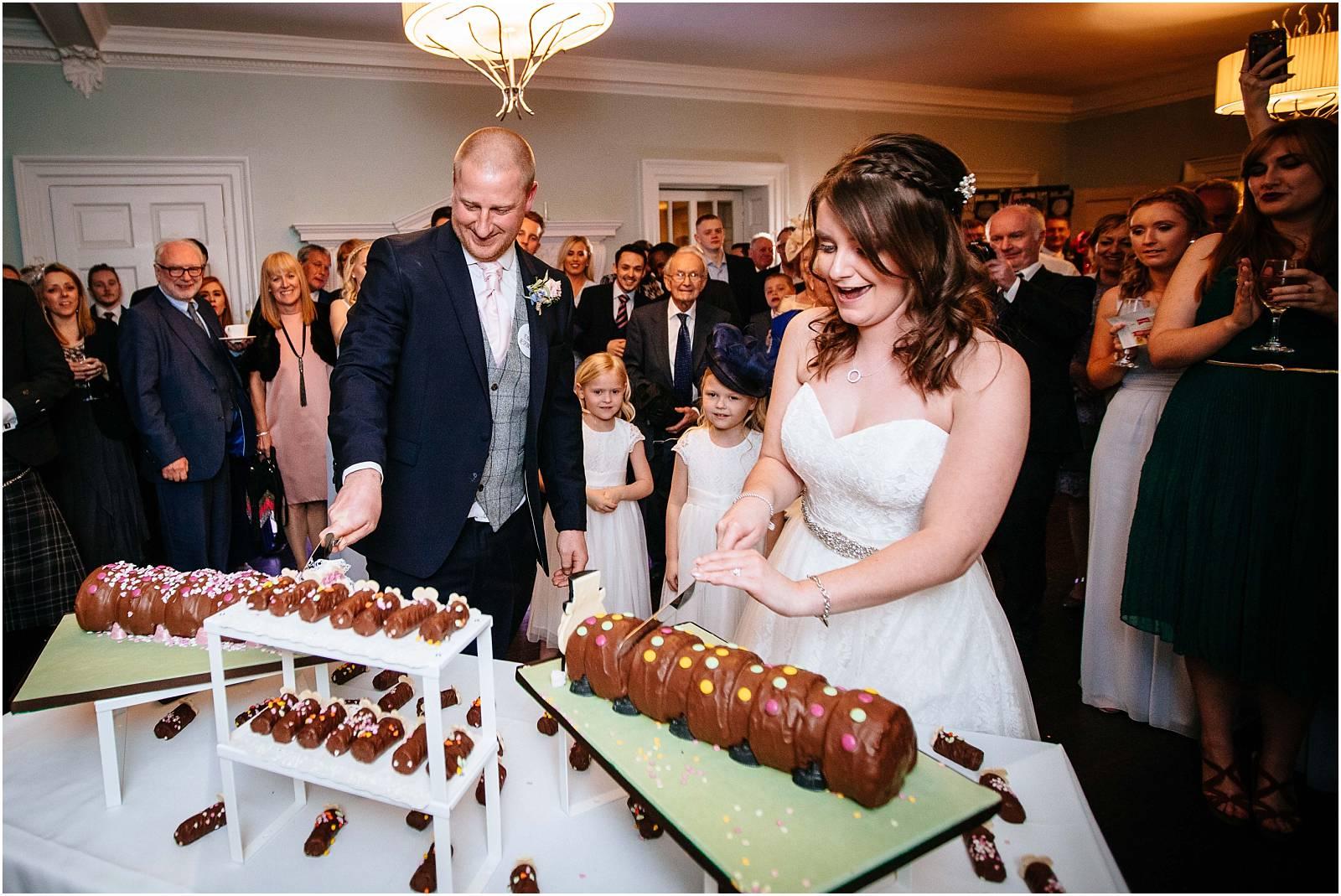 marks and spencer wedding cake caterpillar