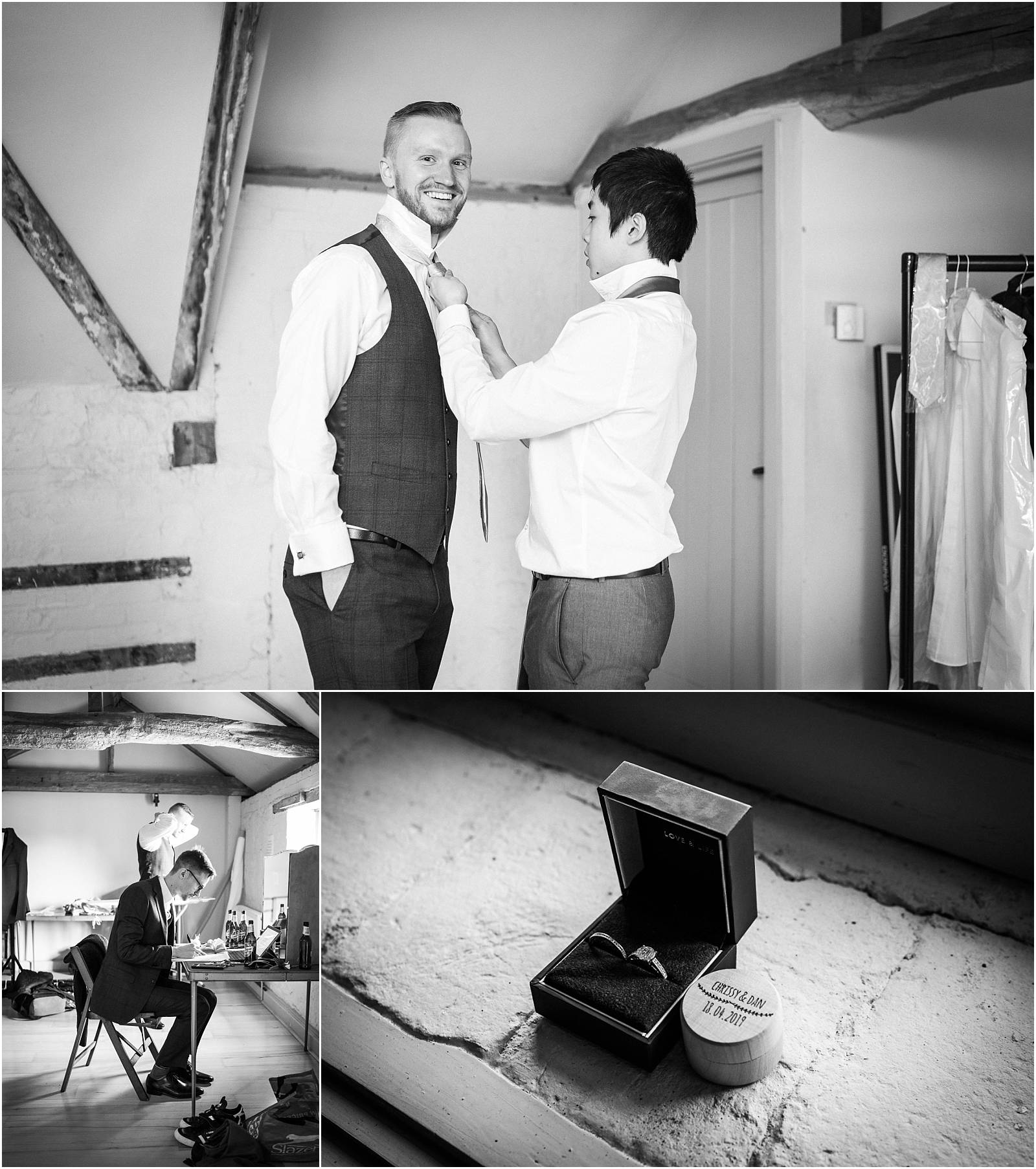 groom prep at bury court