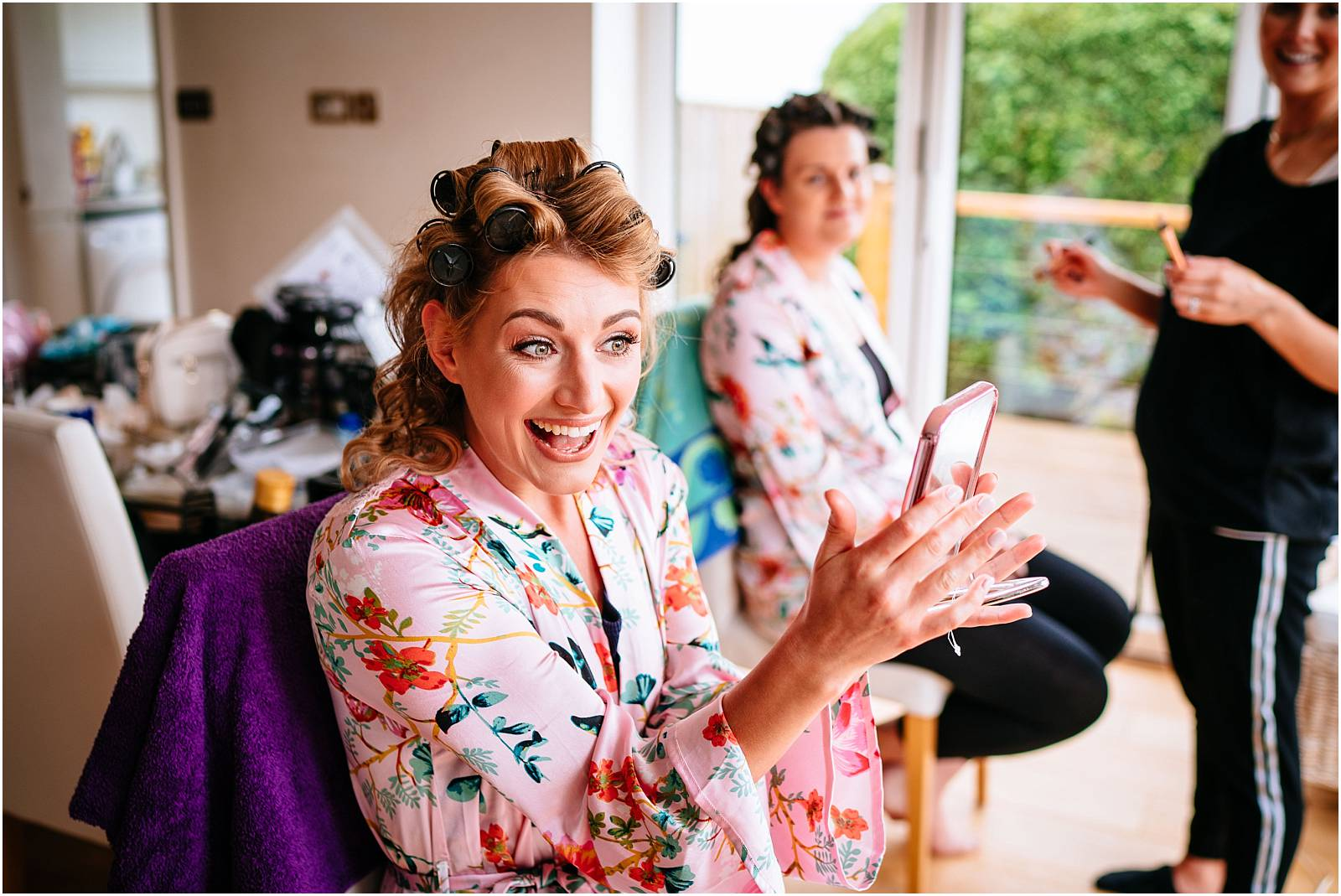 BRide delighted with olivia mills mua