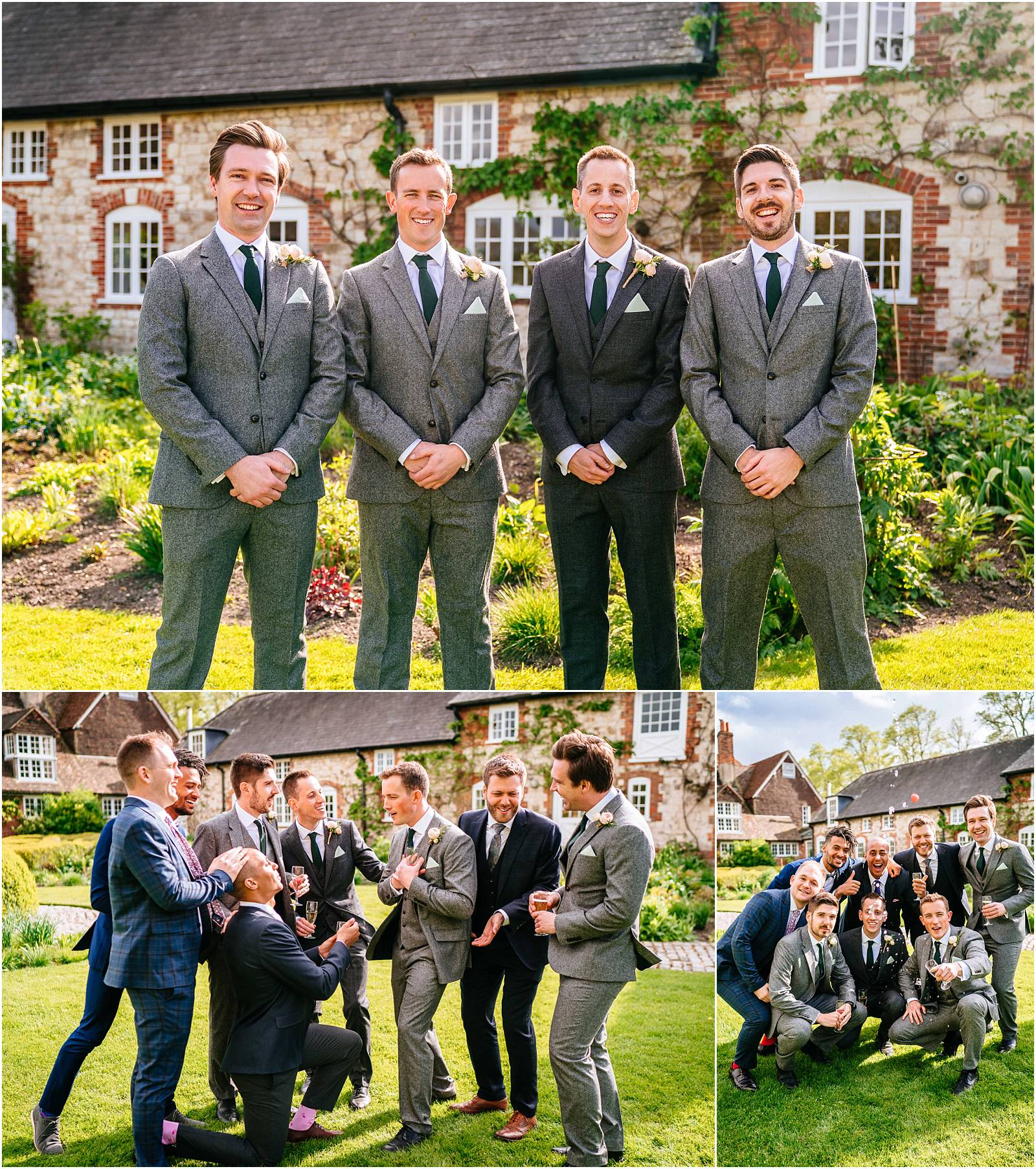 groom and the men