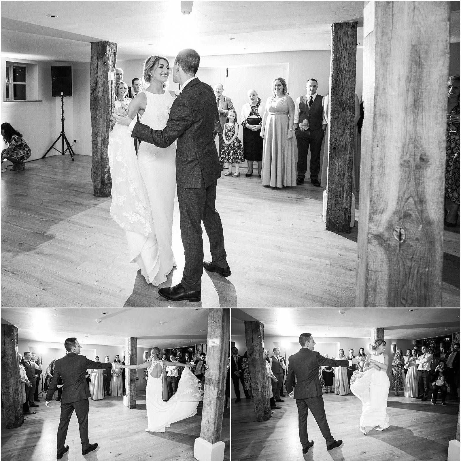 first dance at bury court barn