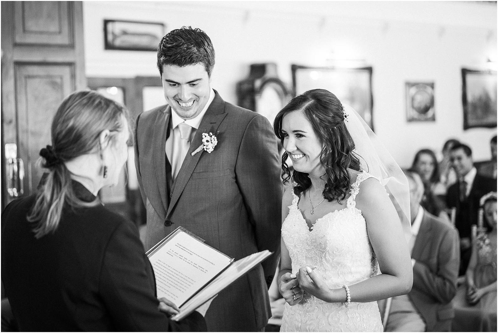 laughing bride and groom wedding photography