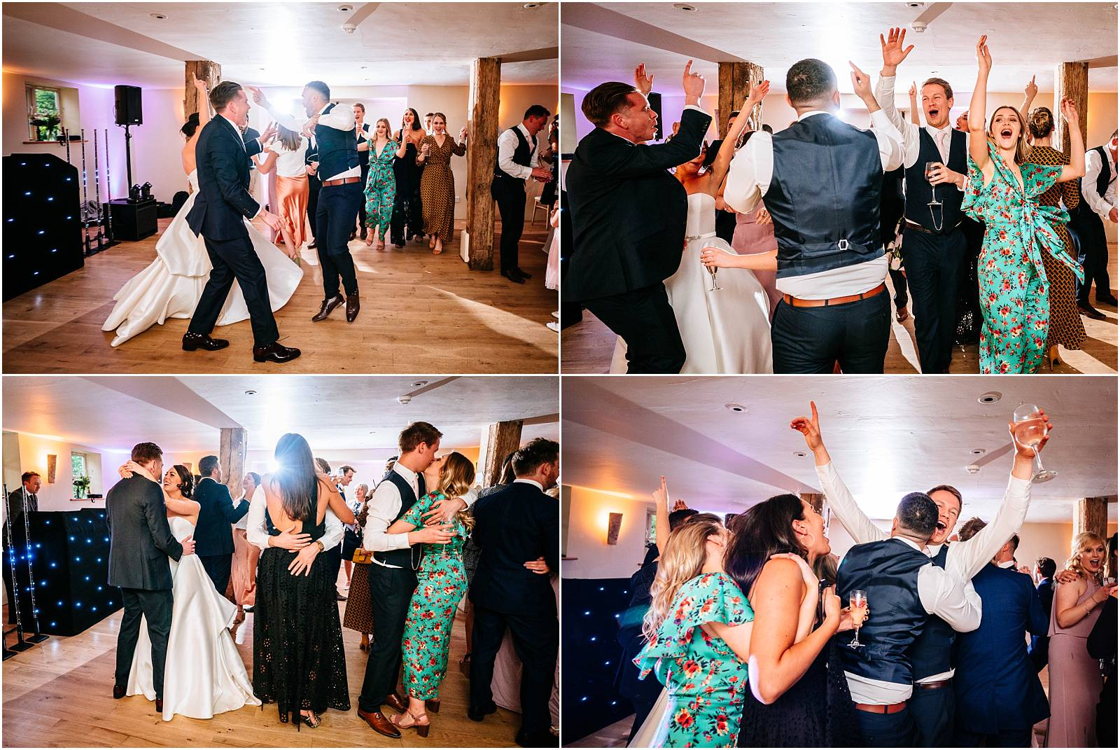 amazing wedding dancing at surrey wedding