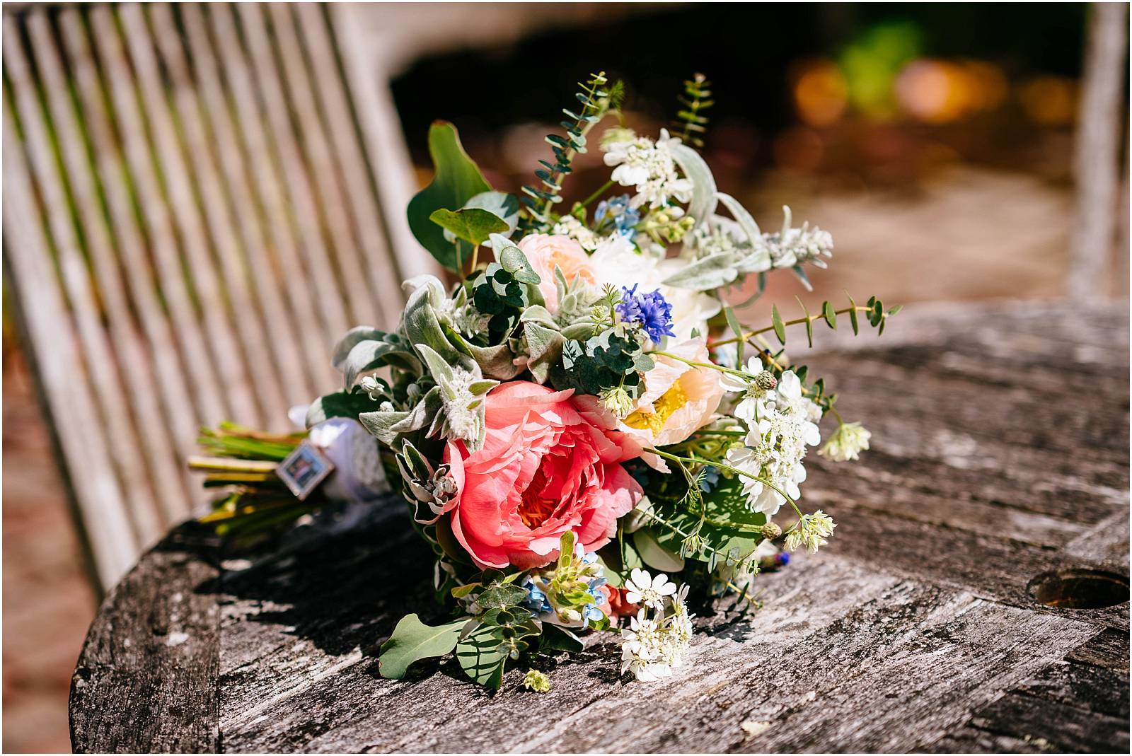 gill pike wedding bouquet at gate street barn