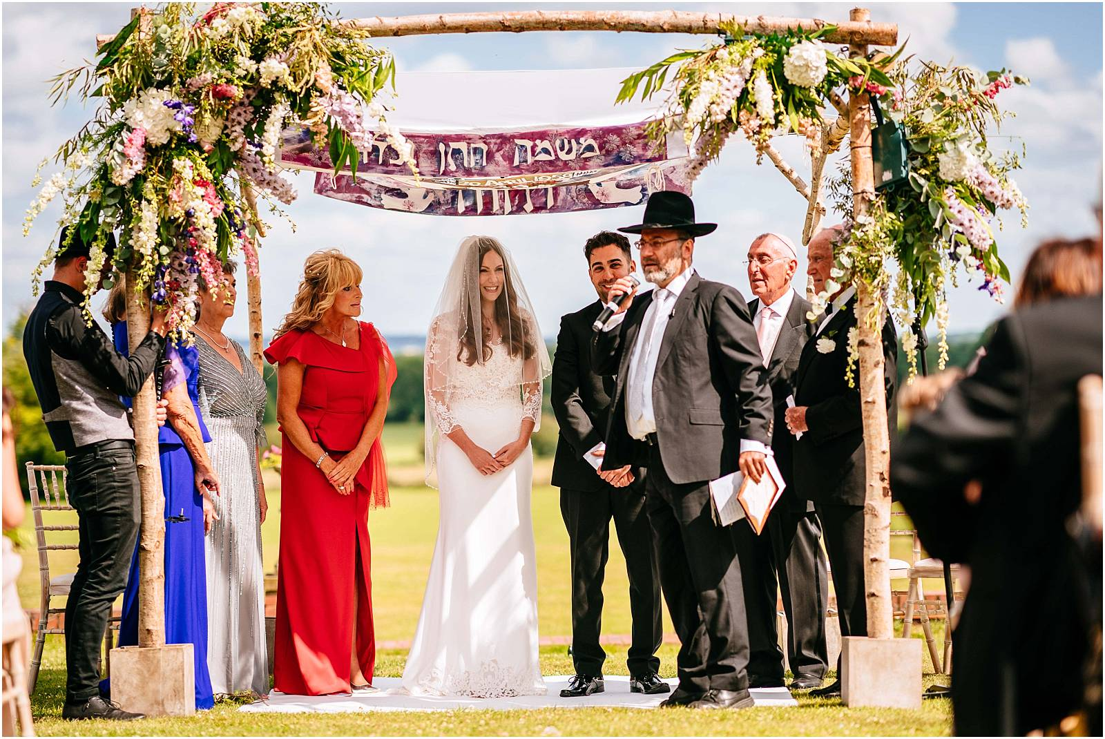 getting married under huppah