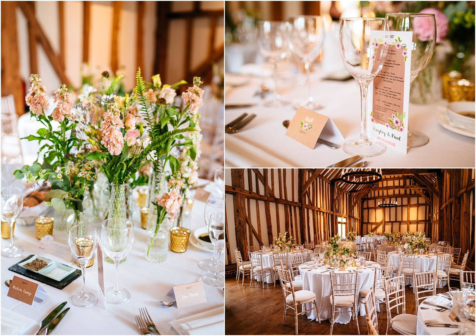 micklefield hall wedding breakfast details