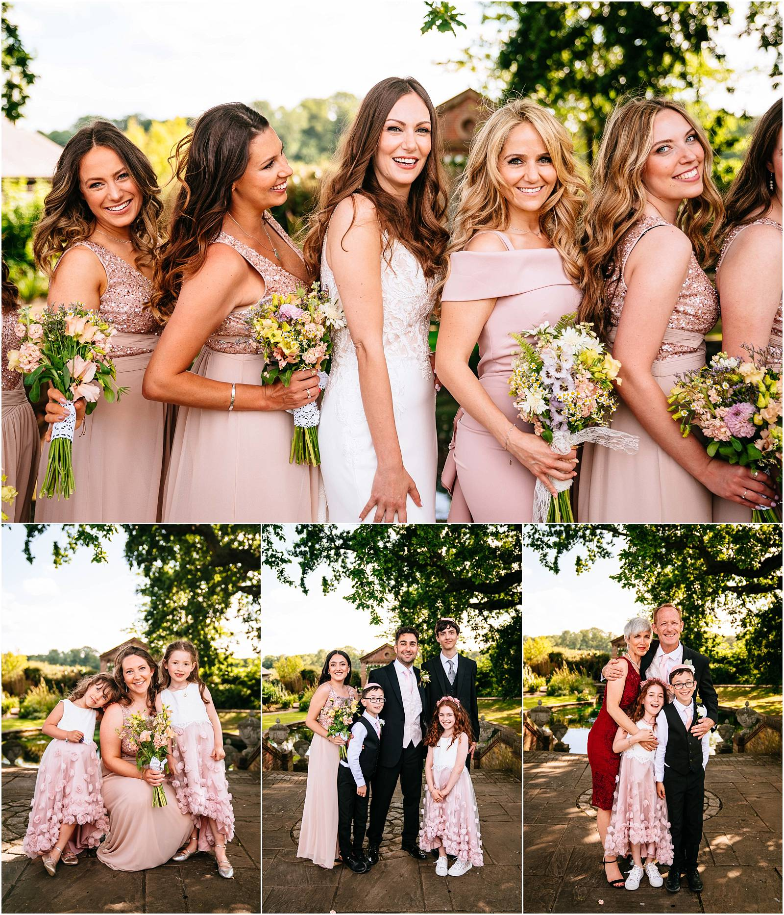 fun bridesmaid pictures