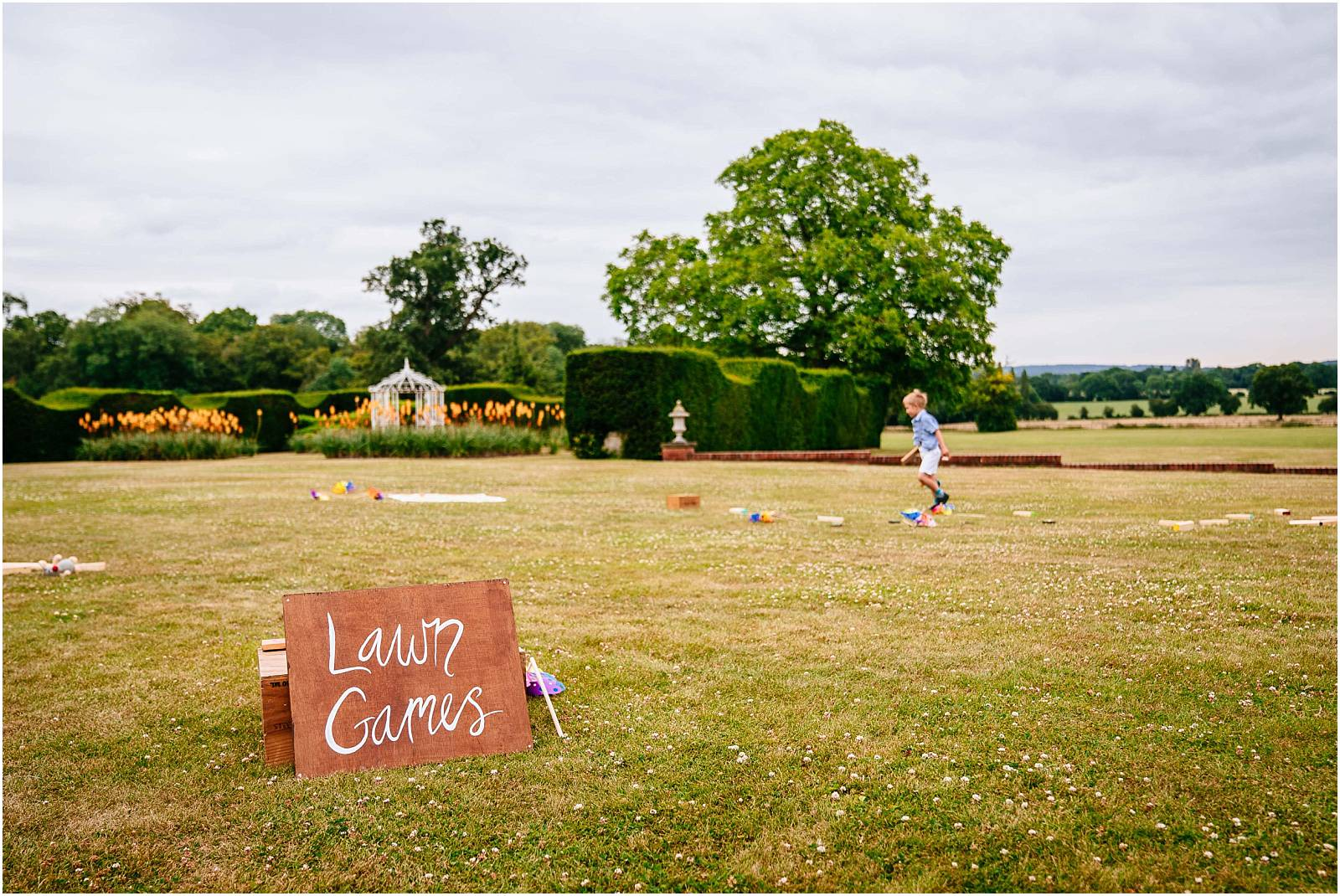 garden games on micklefield hall lane