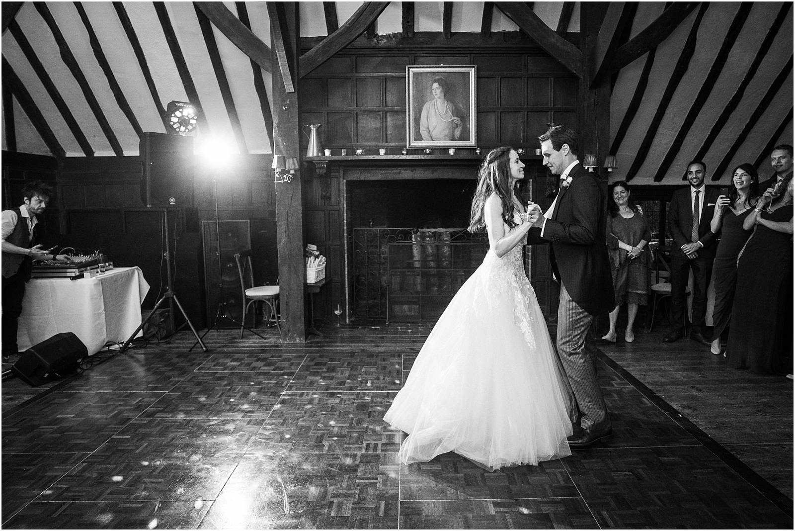 first dance at ramster hall