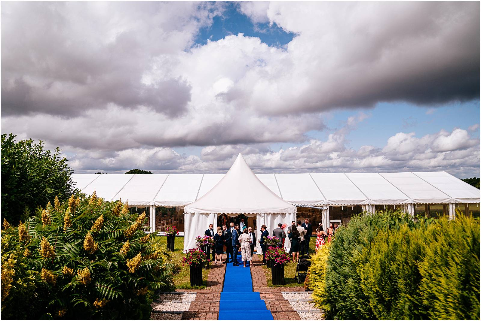 zinnia gardens surrey marquee wedding venue
