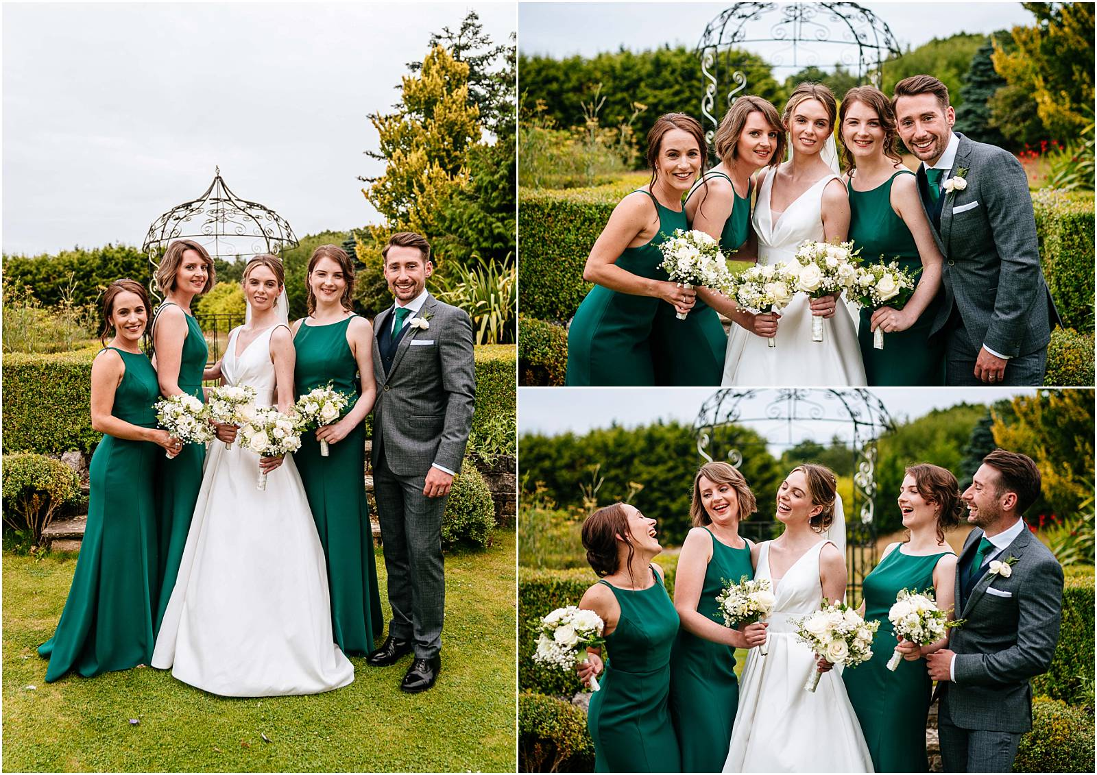 relaxed bridemaid photographs