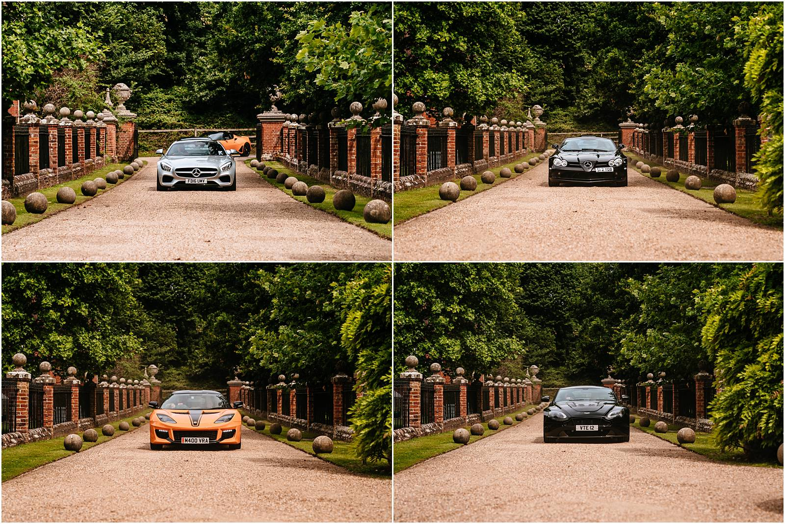 supercars for the groom