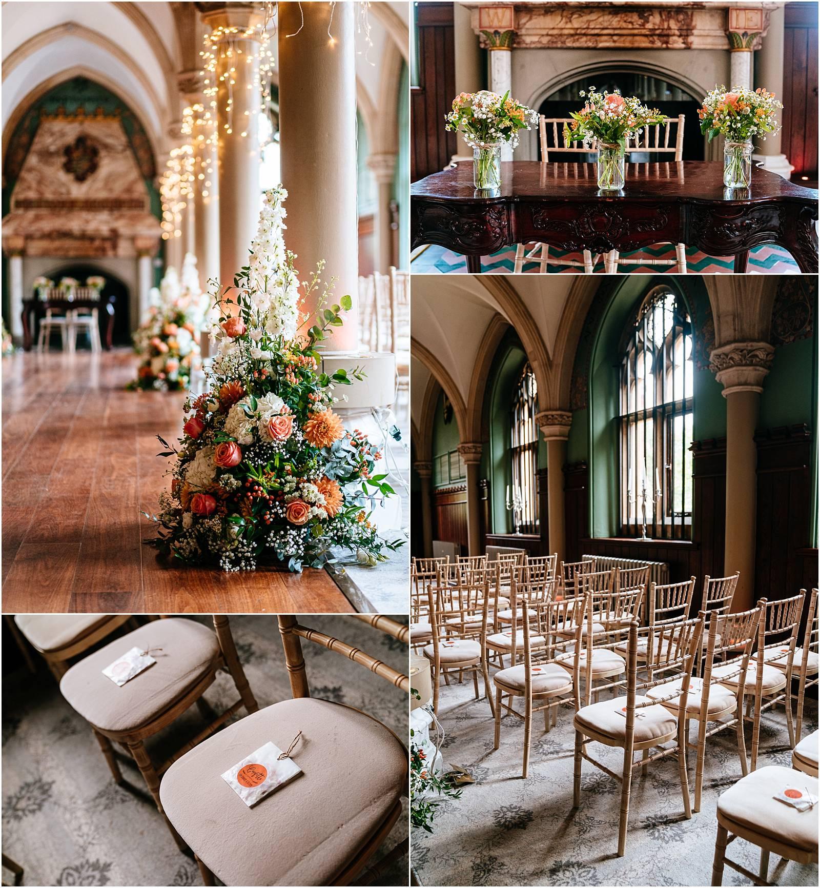 wedding ceremony room at wotton house