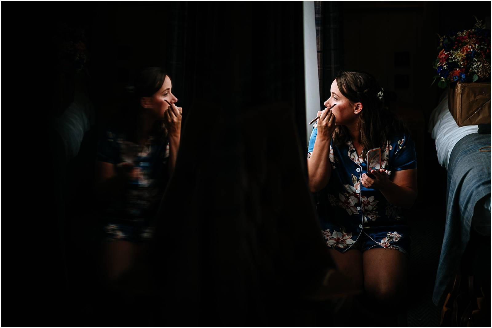 bridesmaid in the dark