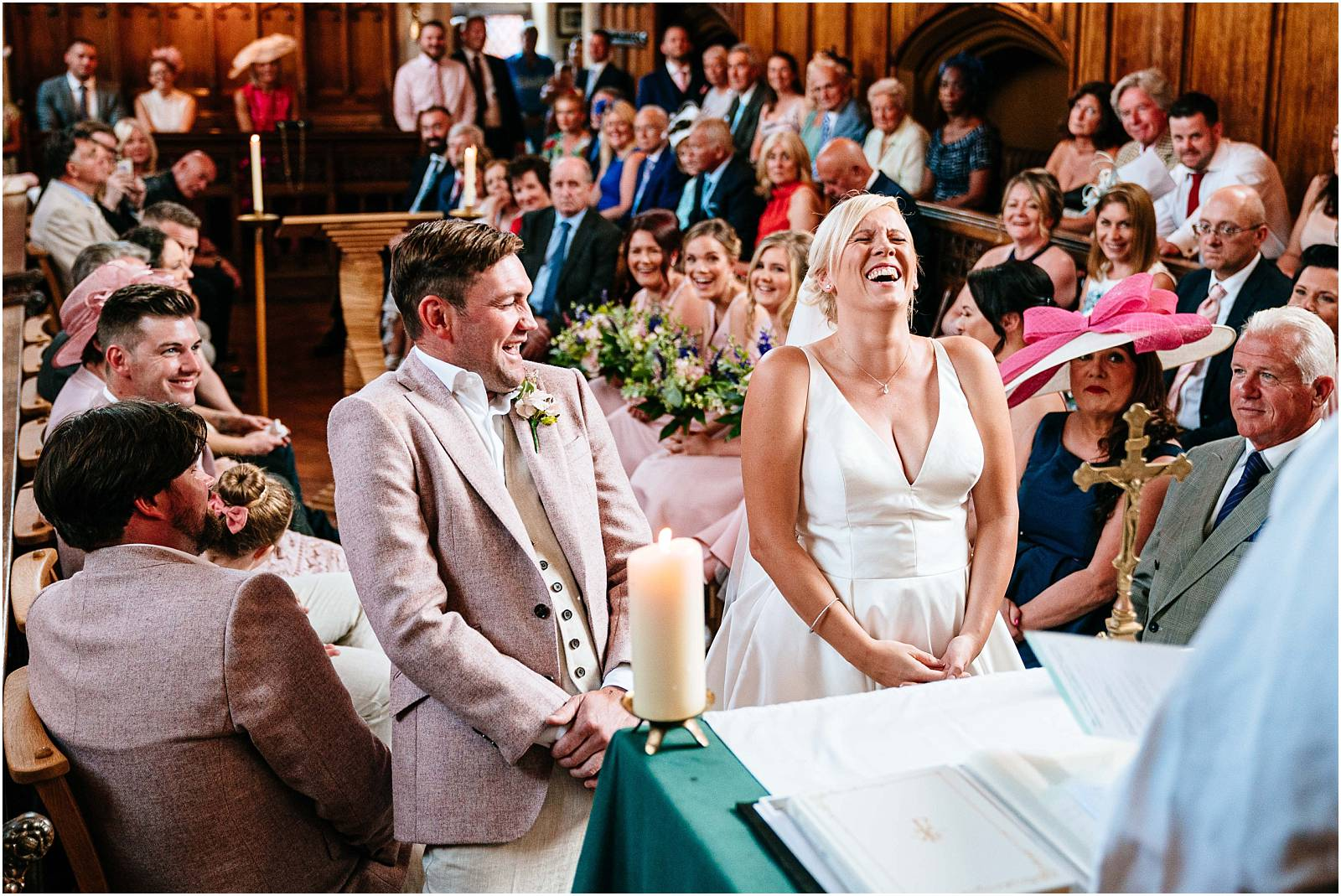 Marquee Wedding Photography – Tara & Garry's gorgeous Virginia Water wedding