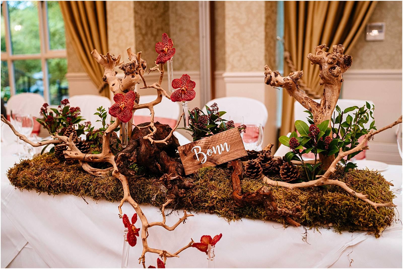 orchid wedding tree