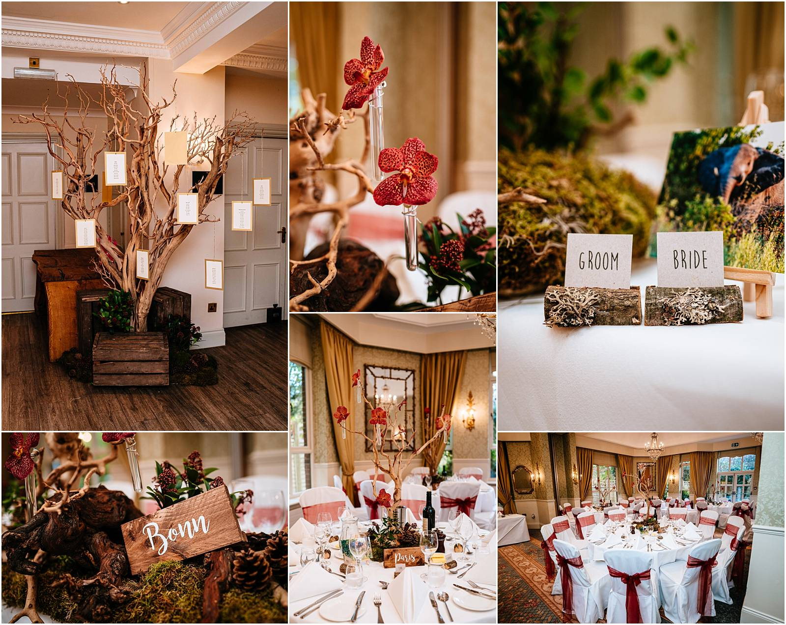 Little lillies wedding flowers at careys manor