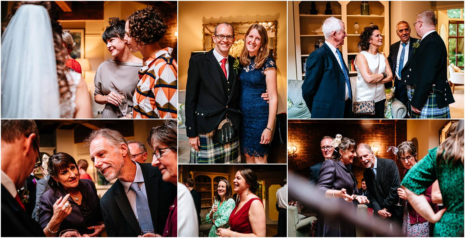 relaxed wedding photos during the drinks reception