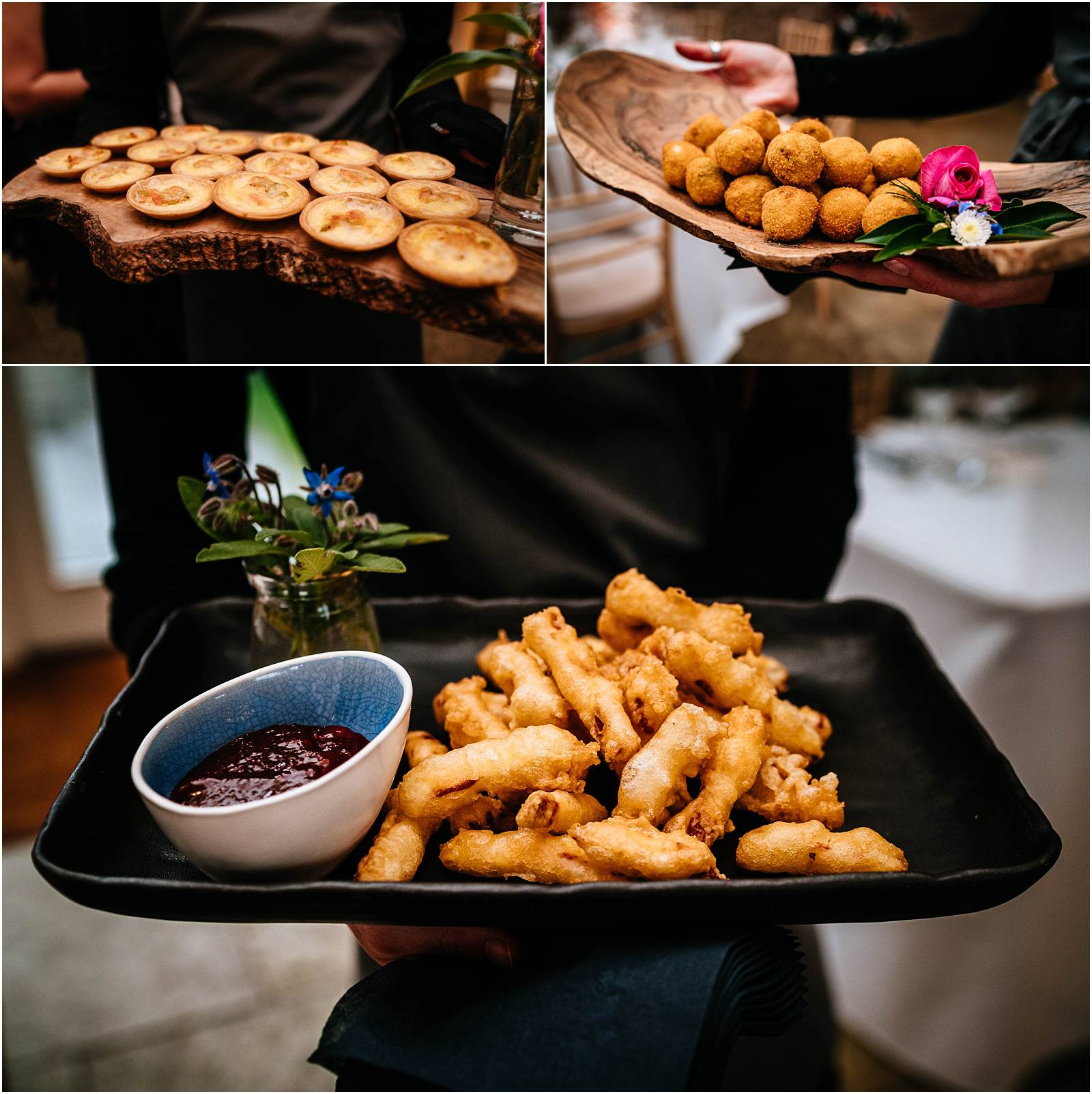 farbridge wedding canapes