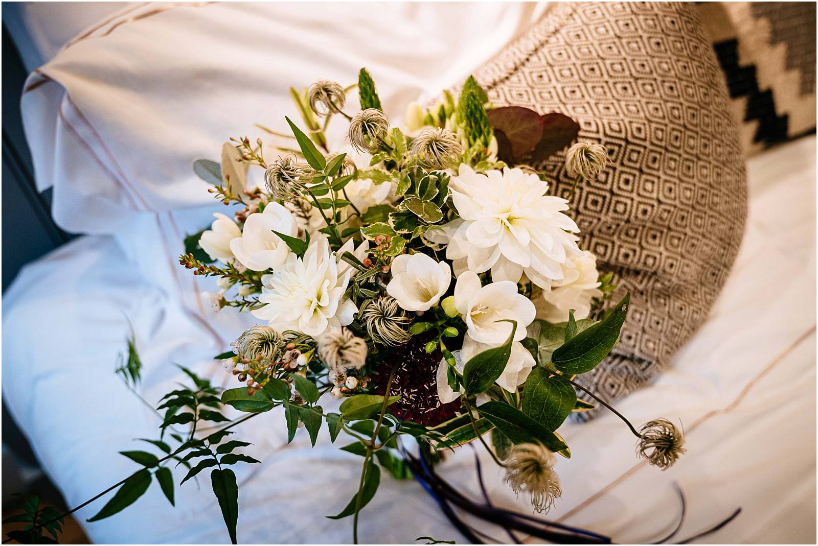 wedding bouquet by louise avery
