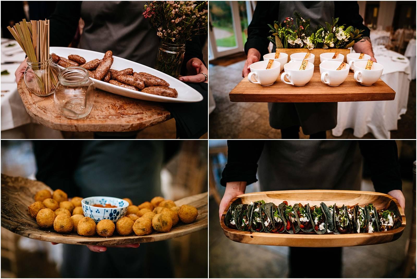 farbridge wedding canapes yum yum yum