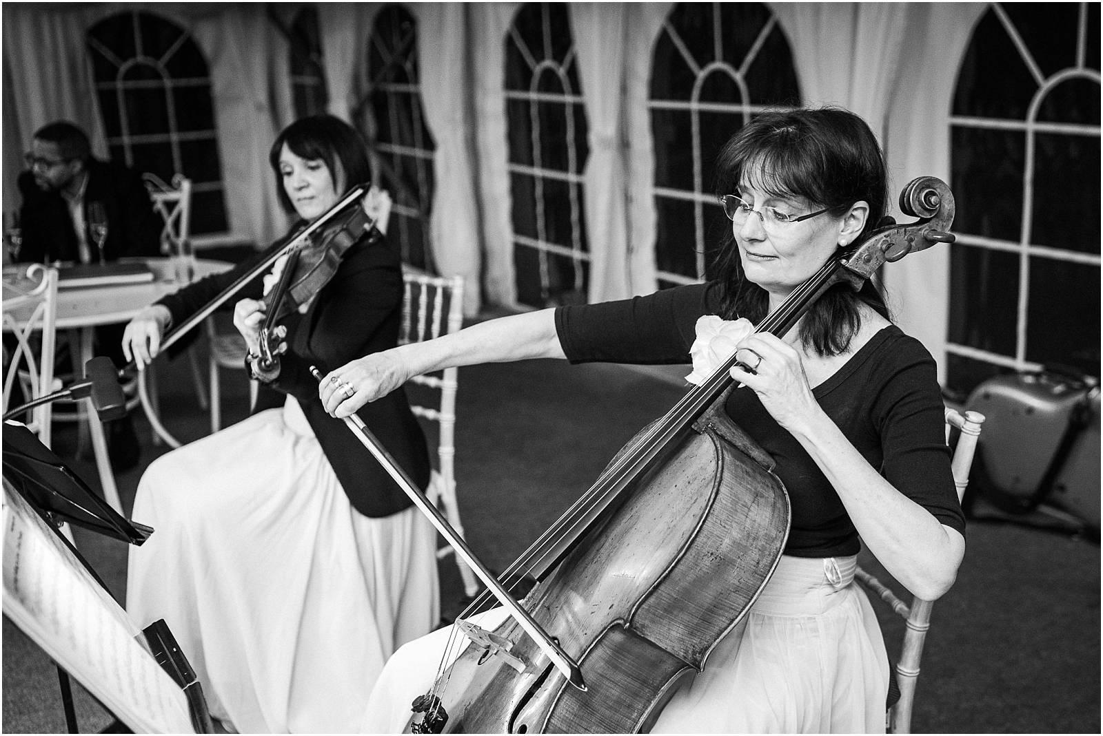 Bow fiddles at micklefield hall kalm kitchen tasting evening