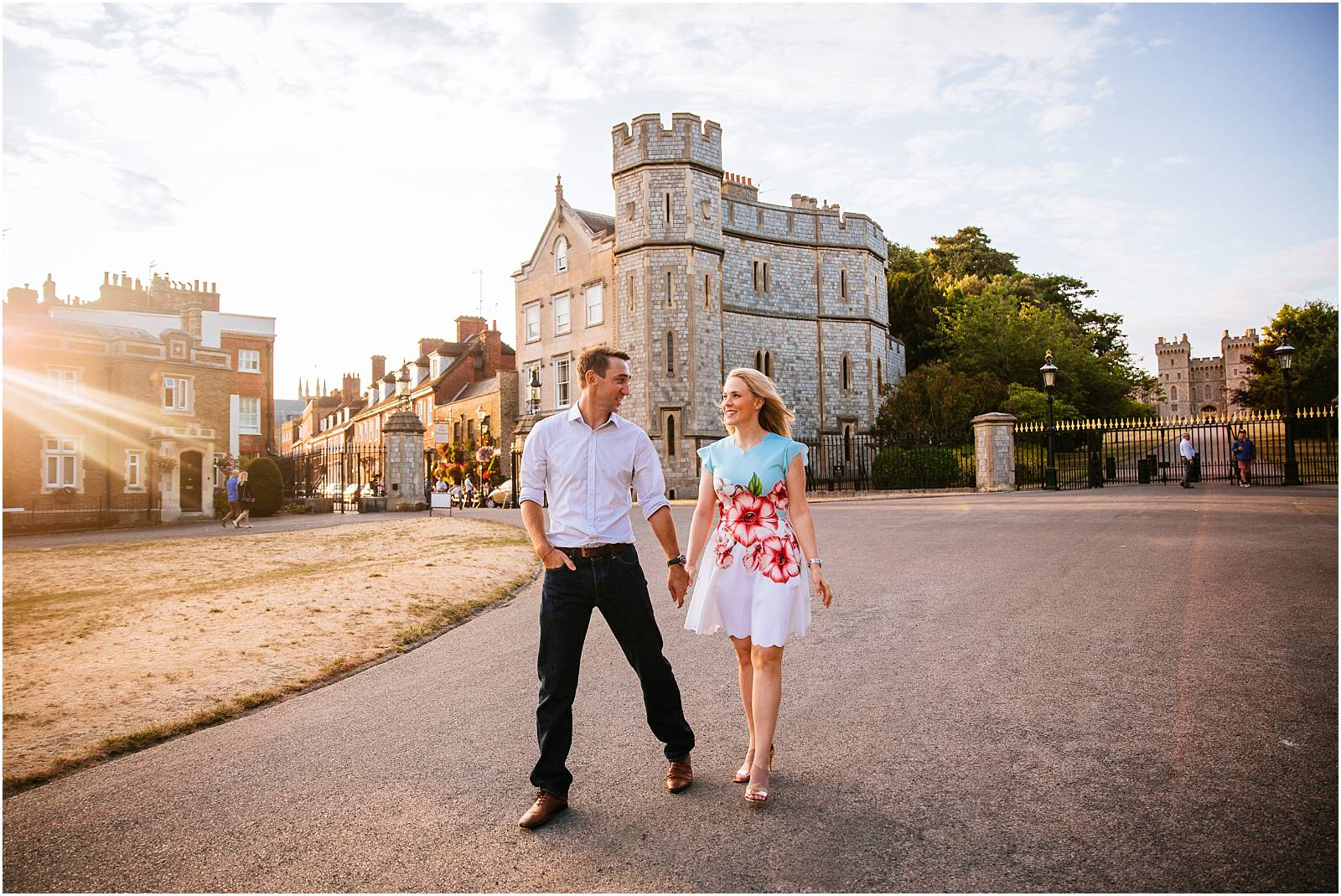 Windsor Engagement Photography – Jenny & Neil's evening shoot