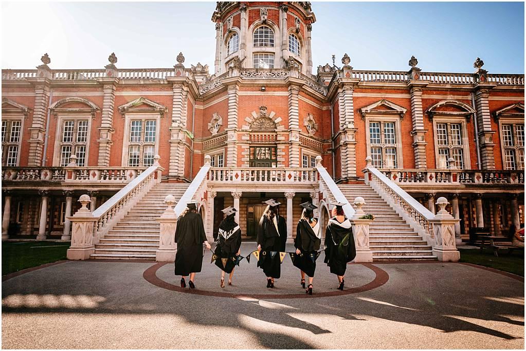 Graduating at Royal holloway university