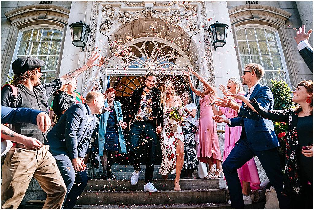 Chelsea Old Town Hall wedding photography – Holly & Will