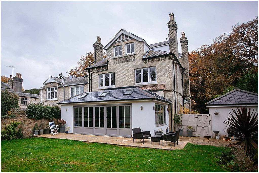 Extension in conservation area