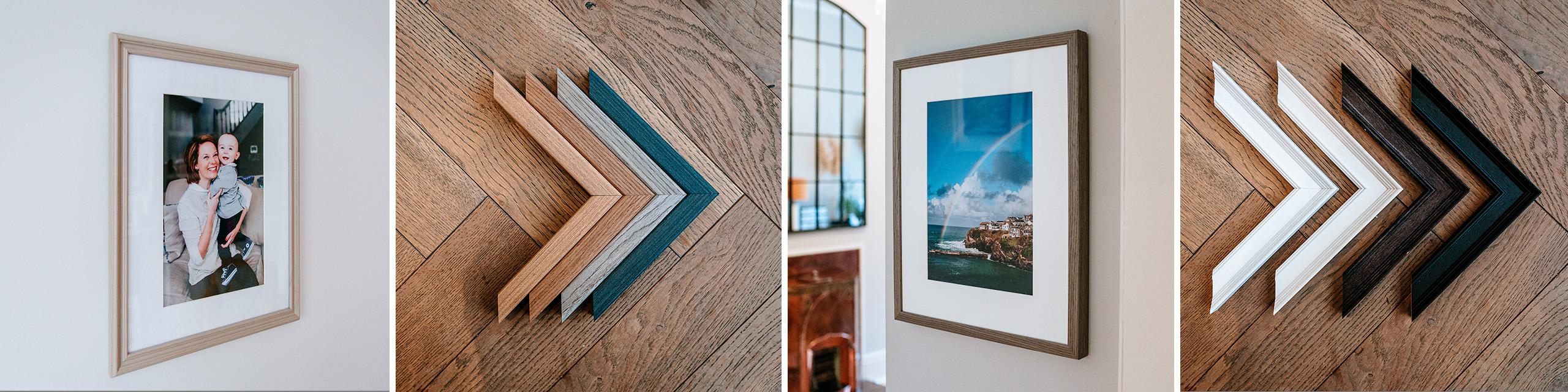 Surrey wedding photographer frame samples