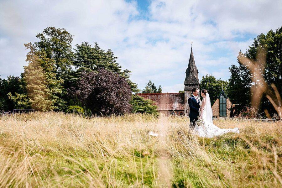 Christchurch Chorleywood wedding